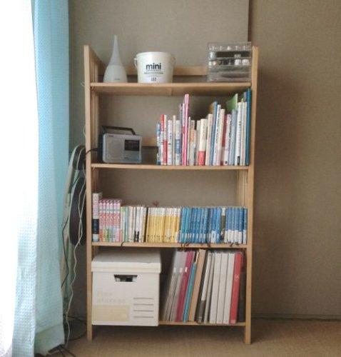レターケースなしの本棚