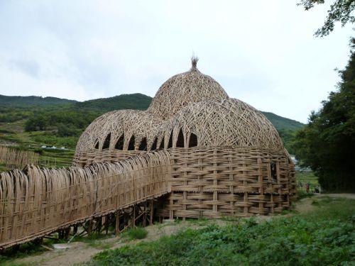 竹のドーム1