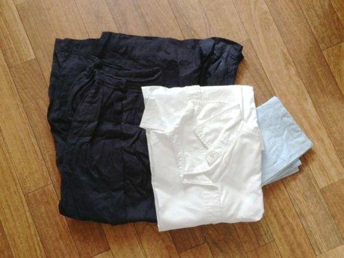 処分した衣類