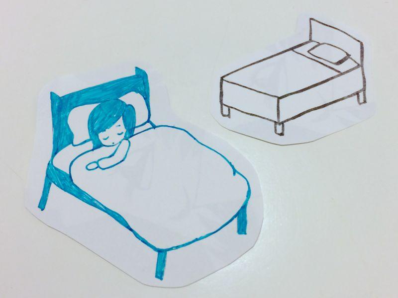 ベッドがほしい