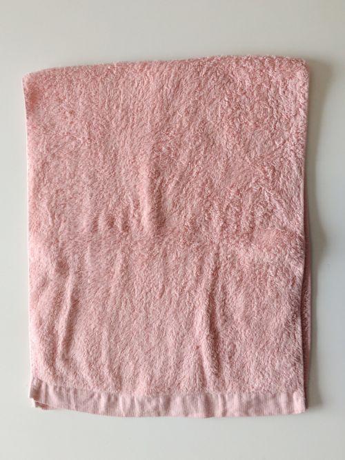 裁断前のタオル
