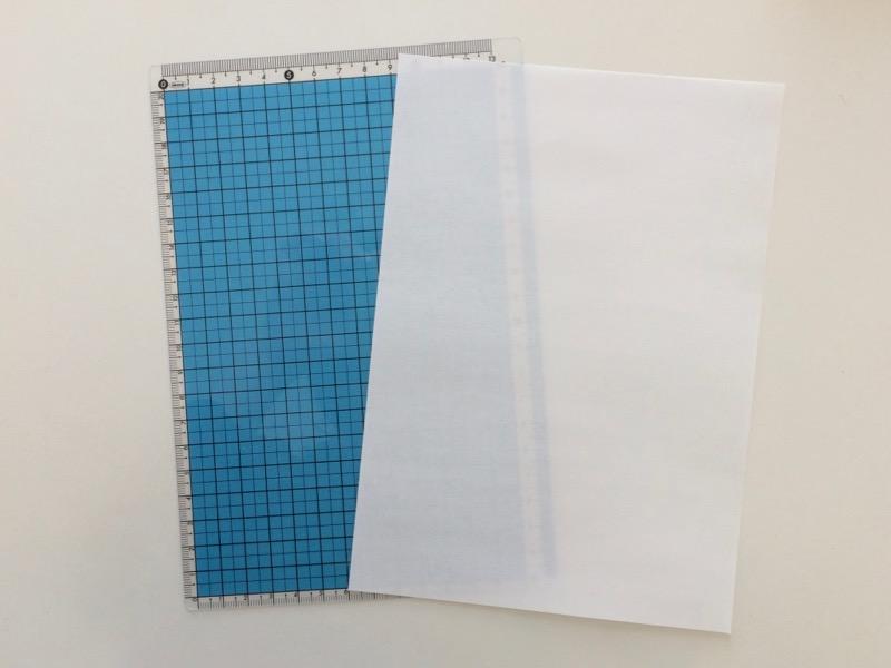 コピー用紙と下敷